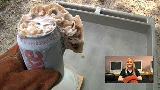 Can of Soda in Liquid Nitrogen!
