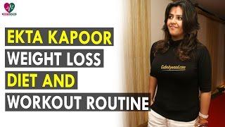 Ekta Kapoor Workout and Diet Plan - Health Sutra - Best Health Tips
