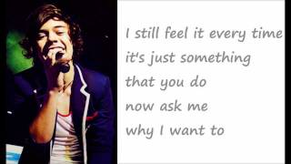 Everything About You - One Direction (lyrics onscreen)