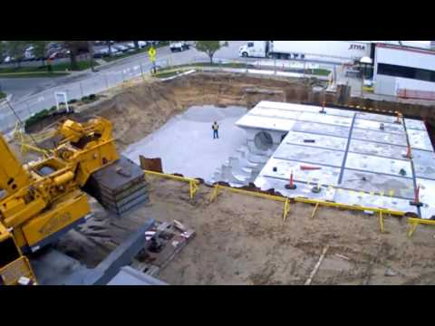 StormTrap Stormwater Infiltration System - Gordon Foods Time-lapse Video