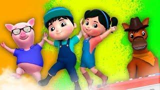 🔴 Farmees Português - rimas para crianças | desenhos animados para crianças
