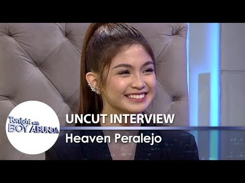 TWBA Uncut Interview: Heaven Peralejo