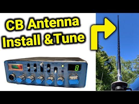 Firestick CB Antenna Install and Tune Highlights