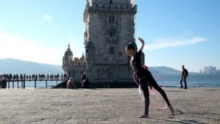 Rhythmic Gymnastics in Belém, Lisbon // with Beatriz Silva