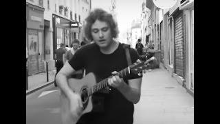 Adam Martin Original - She Gets Up (Acoustic- Paris)