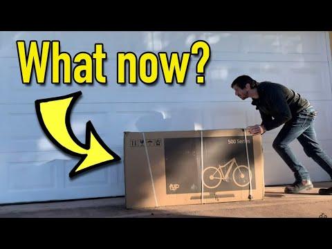 How to assemble an internet direct e-bike