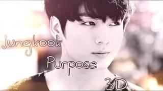 BTS Jungkook - Purpose (Cover) [ 3D USE HEADPHONES ]