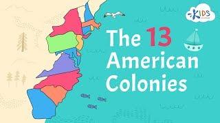 13 American Colonies