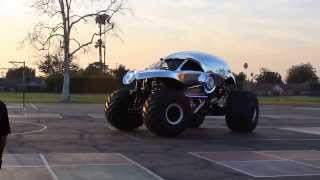 New Earth Authority Police Monster Truck