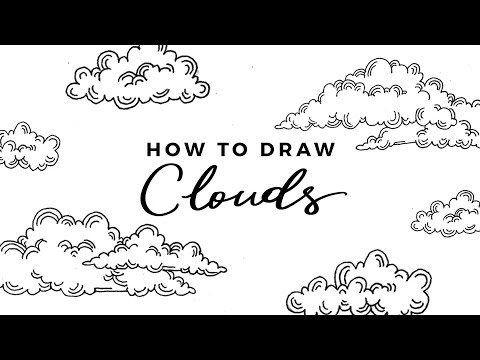 How to Draw Clouds | DOODLE WITH ME + Tutorial
