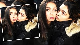 Deepika Padukone's CUTE Pose With Co Star Nina Dobrev |  xXx: The Return of Xander Cage