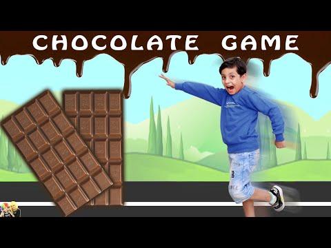 CHOCOLATE GAME | Learning challenge | Aayu and Pihu Show
