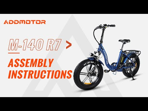 Addmotor M-140 Electric Bike Assembly Tutorial & Operations Guide