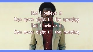 Michael Kiwanuka - One More Night (Lyrics Video)