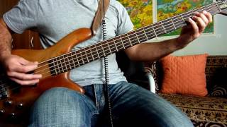 Kings of Leon - Waste a Moment [NOTES](bass cover)🎸