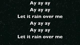 Rain Over Me: Pitbull feat: Mark Anthony LYRICS