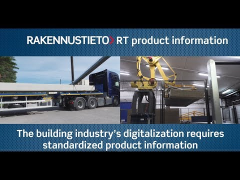 RT product information is your solution for the maintenance and publishing of product information in Finland. The service combines Building Information Ltd's strong RT brand, solid expertise in content production and classification of product information, linking to instructions and regulations in the RT Building Information Files, and an experienced production and communication organisation.  Building Information Ltd works closely with the Nordic countries in product information harmonization and standardization and participates in CEN and ETIM standardization work in Europe.