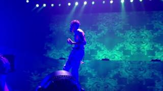 Chris Brown performing  Grass Ain't Greener live (One Hell Of A Nite Tour)