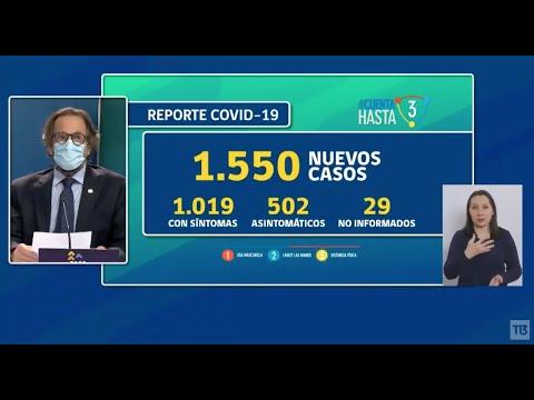 Coronavirus en Chile: balance oficial 21 de noviembre