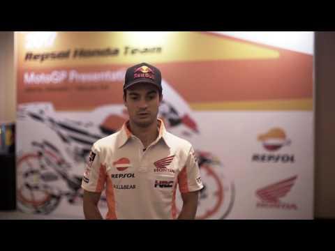Interview with Repsol Honda Team's Dani Pedrosa