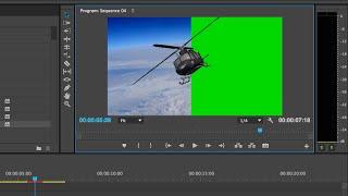 Quick Green Screen Tutorial Adobe Premiere Pro CC