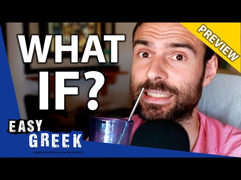 """""""If"""" and Conditionals in Greek (PREVIEW)   Super Easy Greek 28 photo"""