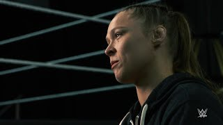 Why does Ronda Rousey want to be a WWE Superstar?