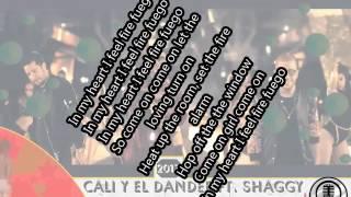 Cali & El Dandee Ft Shaggy - LUMBRA - (Letra)