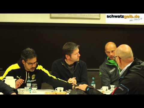 Borussia Dortmund U23 - Borussia Mönchengladbach U23 Stimmung - Interviews - Pressekonferenz