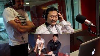 PSY's reaction to Aussie Battler Style (Gangnam Style parody)