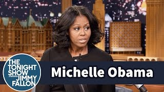 First Lady Michelle Obama Gets Emotional Saying Goodbye
