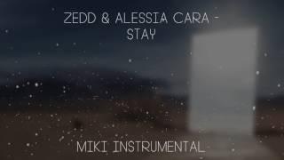 Zedd & Alessia Cara - Stay [Instrumental]