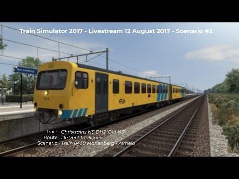 Trein 8430 Marienberg  Almelo Livestream 120817