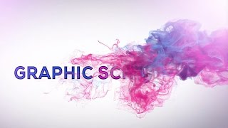 Graphic School Intro | Smoke Text Effects | After Effects cc