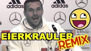 Lukas Podolski - 80 Prozent kraulen sich die Eier - REMIX by STARD OVA