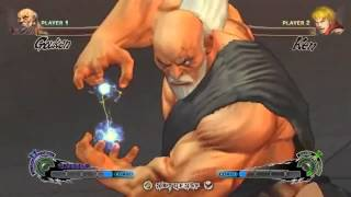 Super Street Fighter IV Gouken - Shin Shoryuken, Denjin Hadouken