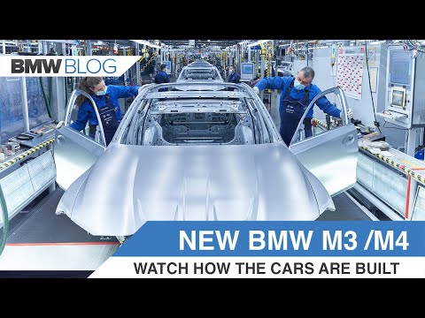 2021 BMW M3 and M4 - This how the cars are being built in Germany