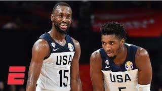 Team USA uses big second half to down Brazil 89-73 | 2019 FIBA World Cup