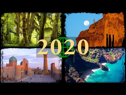 2020 Rewind: Amazing Places on Our Planet in 4K Ultra HD (2020 in Review)