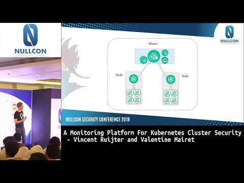 A Monitoring Platform for Kubernetes Cluster Security | Vincent Ruijter & Valentine Mairet