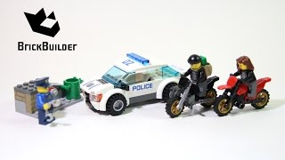 Lego City 60042 High Speed Police Chase - Lego Speed Build