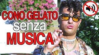 """""""CONO GELATO"""" ma SENZA MUSICA (Parodia Dark Polo Gang)"""