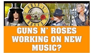 """Guns N' Roses Working on New Music, New Song Called """"Get On It To Be Released This Christmas?"""