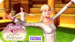 Bailando en el Mundo Mágico | Escena | Barbie™ en Las 12 Princesas Bailarinas