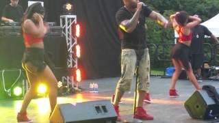 Flo Rida Whistle Live SFNE 8/30/15