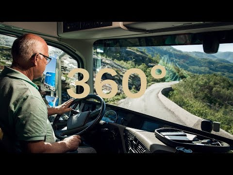 Volvo Trucks - A 360° view from behind the wheel driving through the spectacular Norwegian fjords