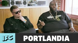 Portlandia | 'Run the Jewels Album Drop' (ft. Killer Mike & El-P) | IFC