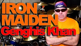 Genghis Khan - IRON MAIDEN - Drums
