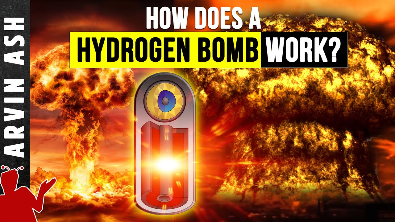 Hydrogen Bomb: How it Works - in Detail - Atomic vs Nuclear