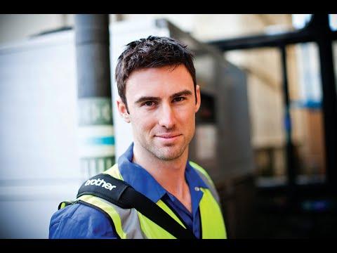 Kannettavia ja pöytämallisia tulostimia liikkuvan työn tueksi - RJ-mallistovideo